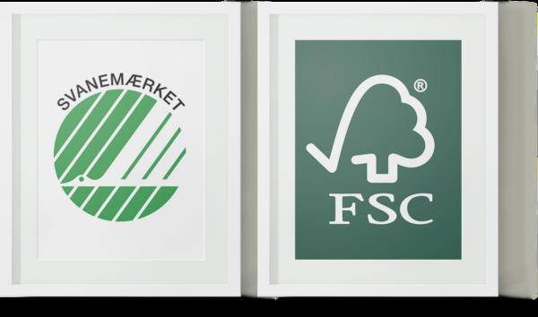 Svanemærket og FSC