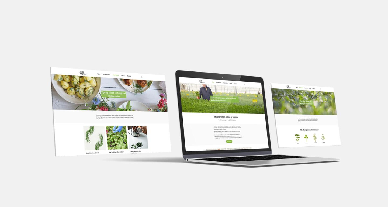 Økologihaven Website