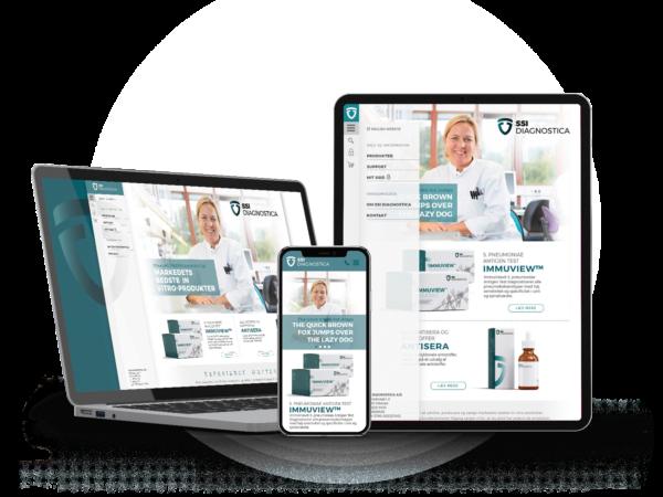 SSI Diagnostica Website