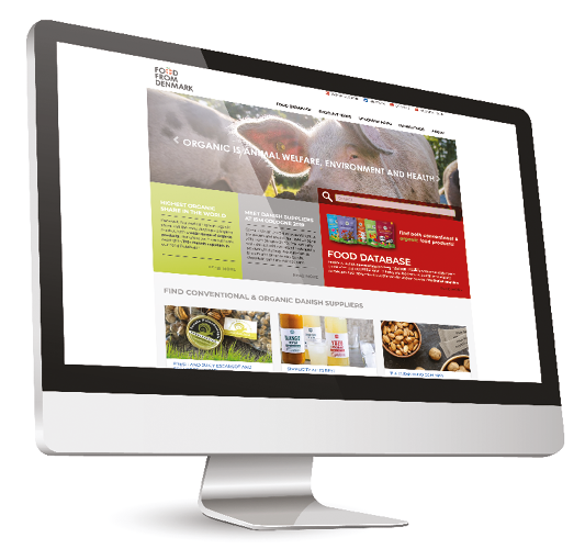 Food From Denmark website